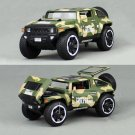 1:32 Hummer HX Military Force Vehicle Model Metal Diecast Toy Vehicle Green Gift