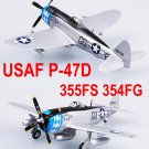 Easy Model 1/72 USAF P-47D Thunderbolt 355FS 354FG #37289