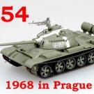 Easy Model 1/72 Russian Army T-54 USSR 1968 in Prague Tank Model #35021