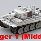 Easy Model 1/72 Tiger 1 (Middle)-sPzAb<wbr/>t.506, Russia 1943 Plastic Tank #362