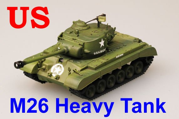 Easy Model 1/72 US M26 Pershing Heavy Tank Company A-8th Armored Div #36200