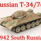 Easy Model 1/72 Russian Army T-34/76 Medium Tank 1942 South Russia #36266