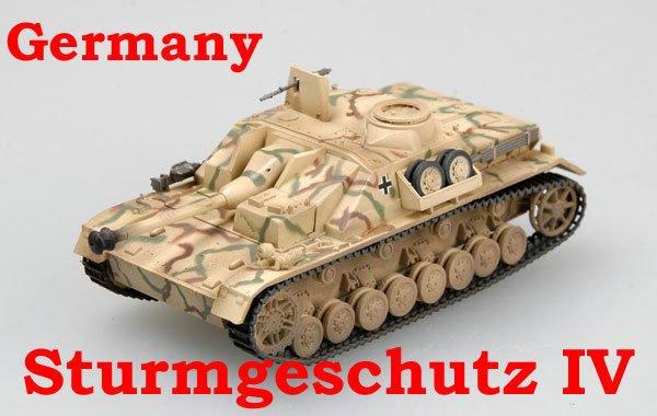 Easy Model 1/72 Germany Sturmgeschutz IV Autumn 1944 #36134