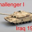 Easy Model 1/72 Challenger I, Iraq 1991 Plastic Tank Model #35106