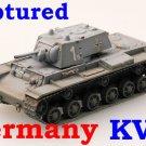 Easy Model 1/72 Captured Germany KV-1 Heavy Tank 8th Panzer Div. 1941 #36277