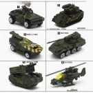Hot Wheels 5PCS Military Vehicle Tank Armored Car Model Alloy Diecast Toy Gift