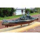 Modello militare MagiDeal 1: 700 Battlefield USS Missouri Battleship Boat