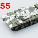Easy Model 1/72 Russian Army T-55 USSR Medium Tank Model #35026