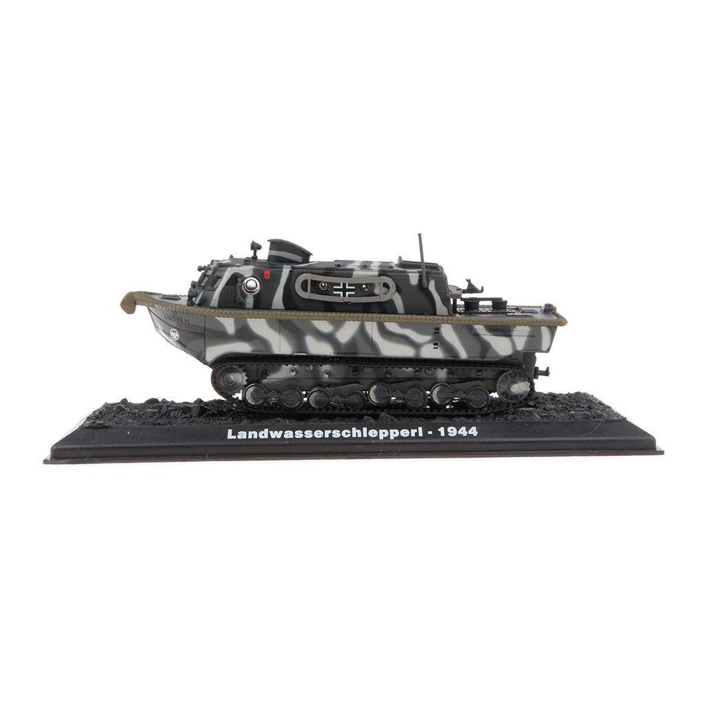 1/72 Alloy German Landwasserschl<wbr/>epper I Tank Model WWII Army Collectibles