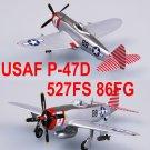 Easy Model 1/72 USAF P-47D Thunderbolt 527FS 86FG #37290