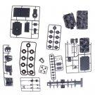 Plastic Assembled Radar Vehicle 1/72 Puzzle Assembling Model Toys
