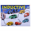 Follow Any Drawn Line Magic Pen Inductive Toy Car Truck Bus Tank Model New