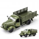 1:32 Alloy Diecast Military Transport Trucks Army Green Jiefang Truck Models