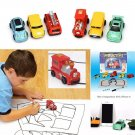 Inductive Kid Car Toy Automatic Follow-Line You Draw Novelty Cars (Random Style)