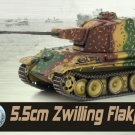 1:72 Dragon 5.5cm Zwilling Flakpanzer Western Front 1945 Gift 60643 WWII Armor
