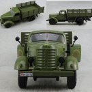 1:32 Model Toy Jiefang military truck Diecast Truck W/light Sound Army Green