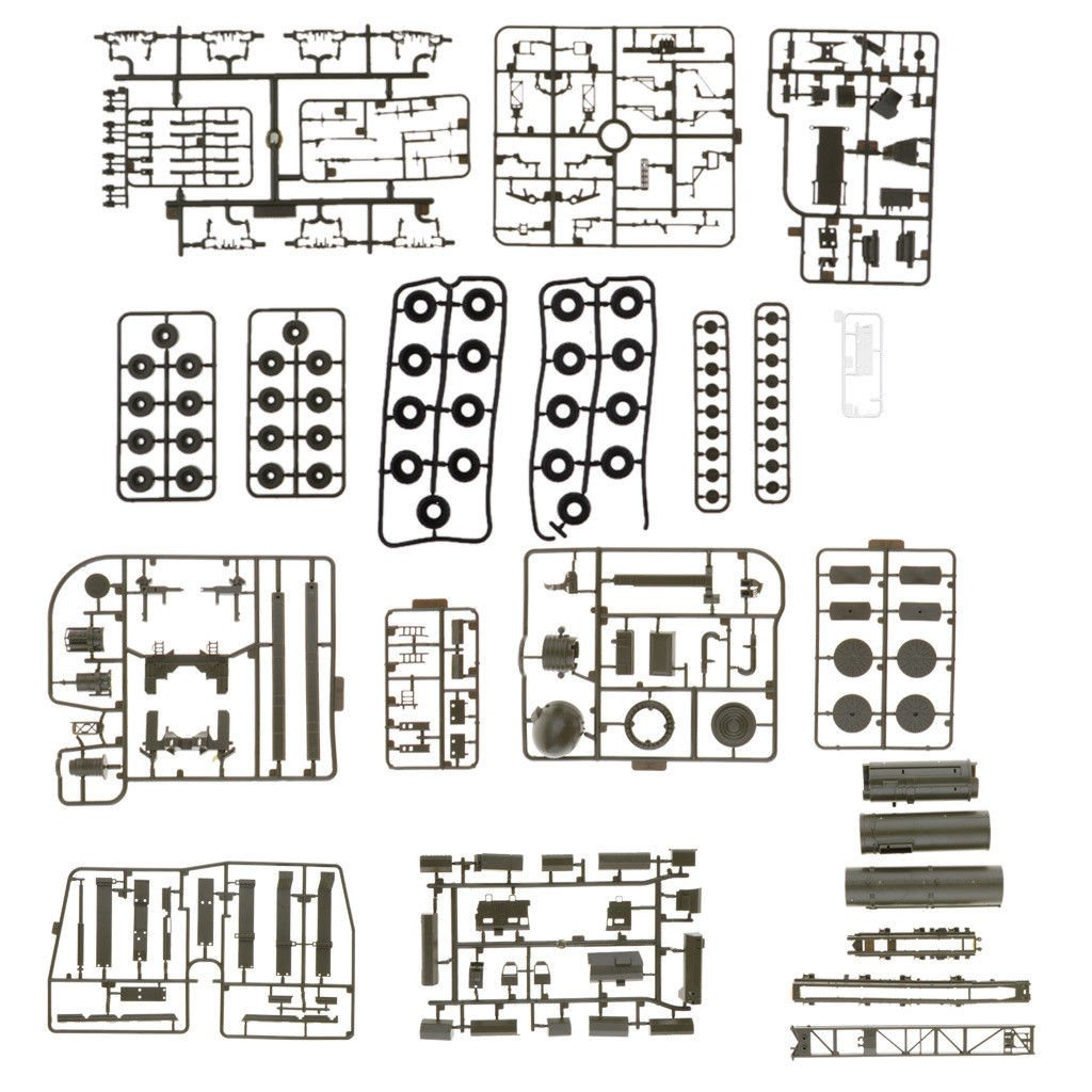Kit di costruzione di giocattoli in miniatura da 1/72 in plastica modello