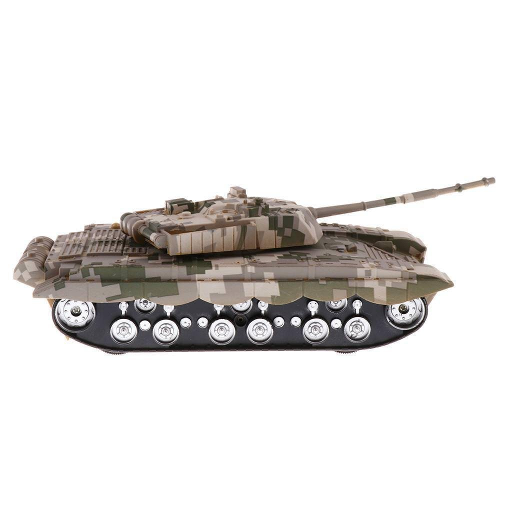 Chinese T-99 Battle Tank 1/32 Scale Camouflage Military Vehicle Modle - A