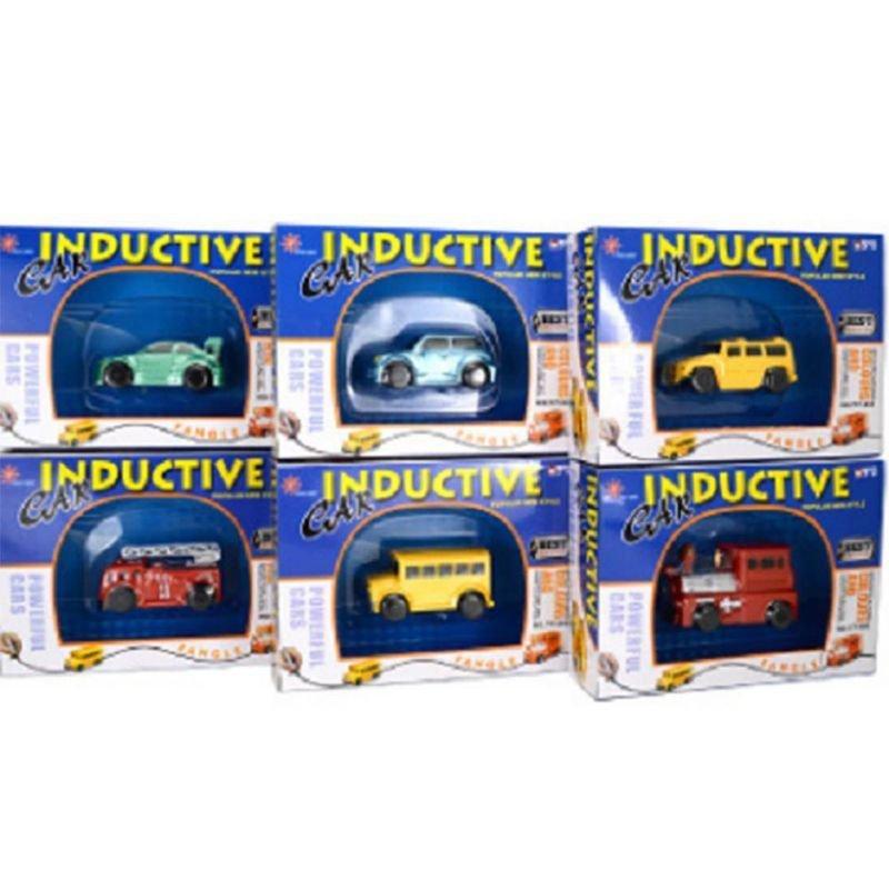 1x Follow Any Drawn Line Magic Pen Mini Fangle Inductive Car Bus Truck Toy Gift