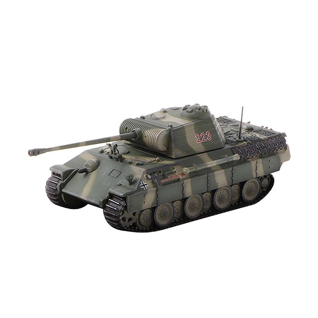 1/72 Diecast Model Sd.Kfz.171 PzKpfw V Panther-19444 Military Armor Playset