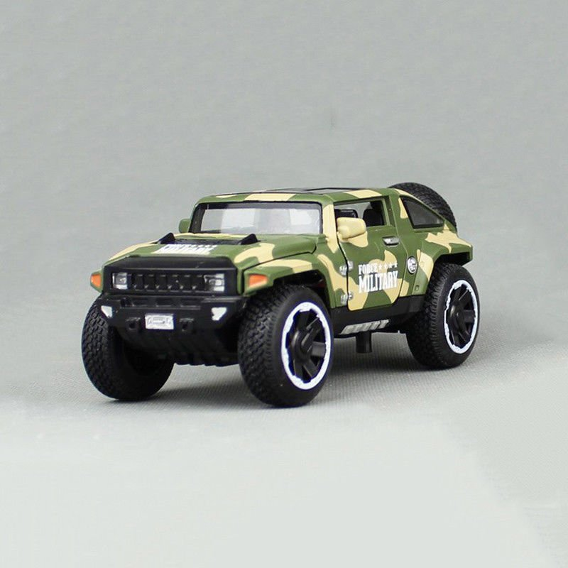 1:32 Hummer HX Military Force Vehicle Model Toy Vehicle Diecast Green Kids Gift