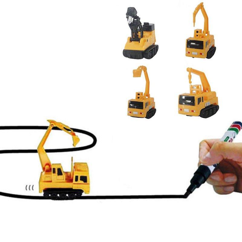 Childrens Truck Toy Car Gift Novelty 6.7* 4* 5.8cm Magic Mini Inductive Fangle