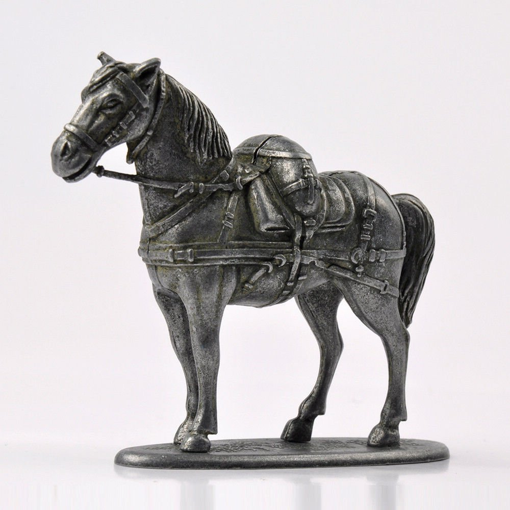 1:32 Atlas WWI France Horse Soldier Alloy Diecast Metal Collection Model Toy