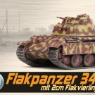 1/72 Dragon Flakpanzer 341 mit 2cm Flakvierling Nuremberg Tank Model Collection