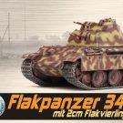 1:72 Dragon 60594 WWII Armor Flakpanzer 341 mit 2cm Flakvierling Nuremberg 1945