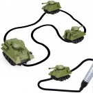 Mini Tank Inductive Pen Follow Line Draw Induction Magic Mini Tanks Vehicle Rail