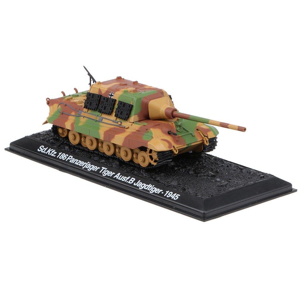 1:72 Army Tank Sd.Kfz. 186 Panzerjager Tiger Ausf.B Jagdtiger 1945 Playset