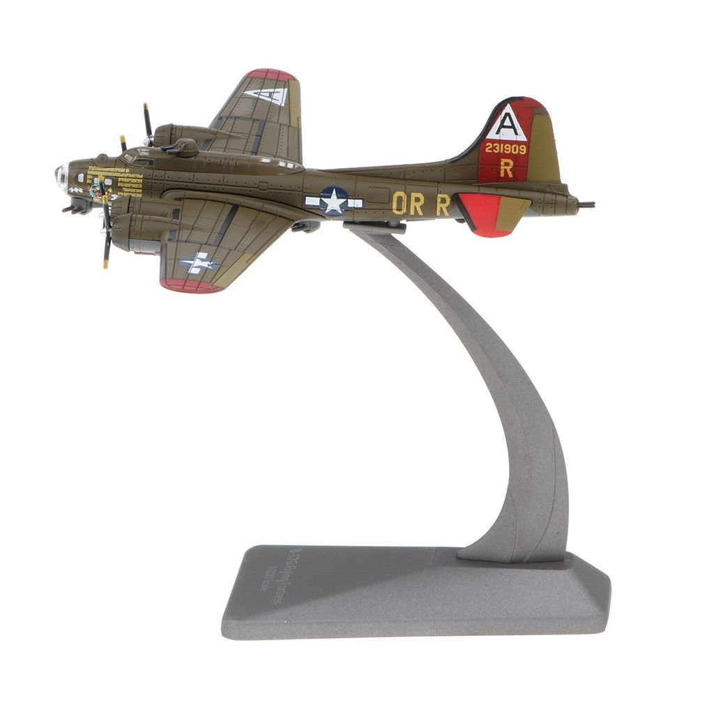 1:200 USA B-17G Flying Fortress Bomber Aircraft Army Model Showcase Display