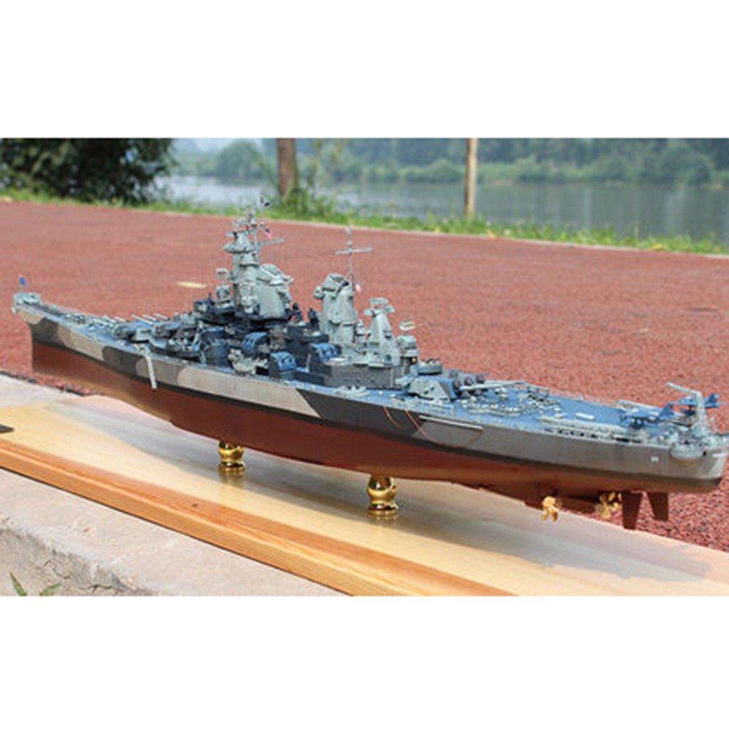 Kit da 1: 700 Veicolo Militare USS Missouri Battleship Boat Armor Model