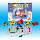 New Novelty Magic Smart Inductive Train Tanks Follow Line Draw Toy Children Gift