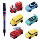 Inductive Car Toy Automatic Follow-Line You Draw Novelty Cars Gifts Random Style
