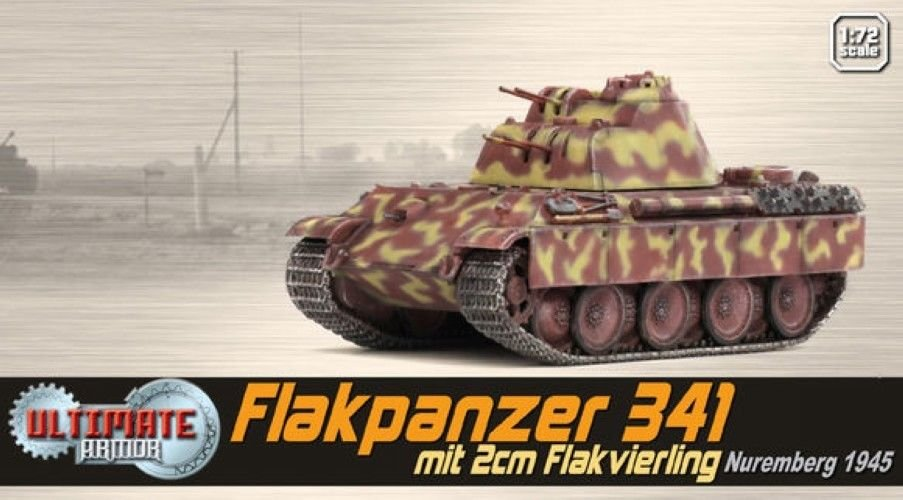 Dragon Models 1:72 Armor 60594 MAN Flakpanzer 341 mit 2cm Flakvierling Tank
