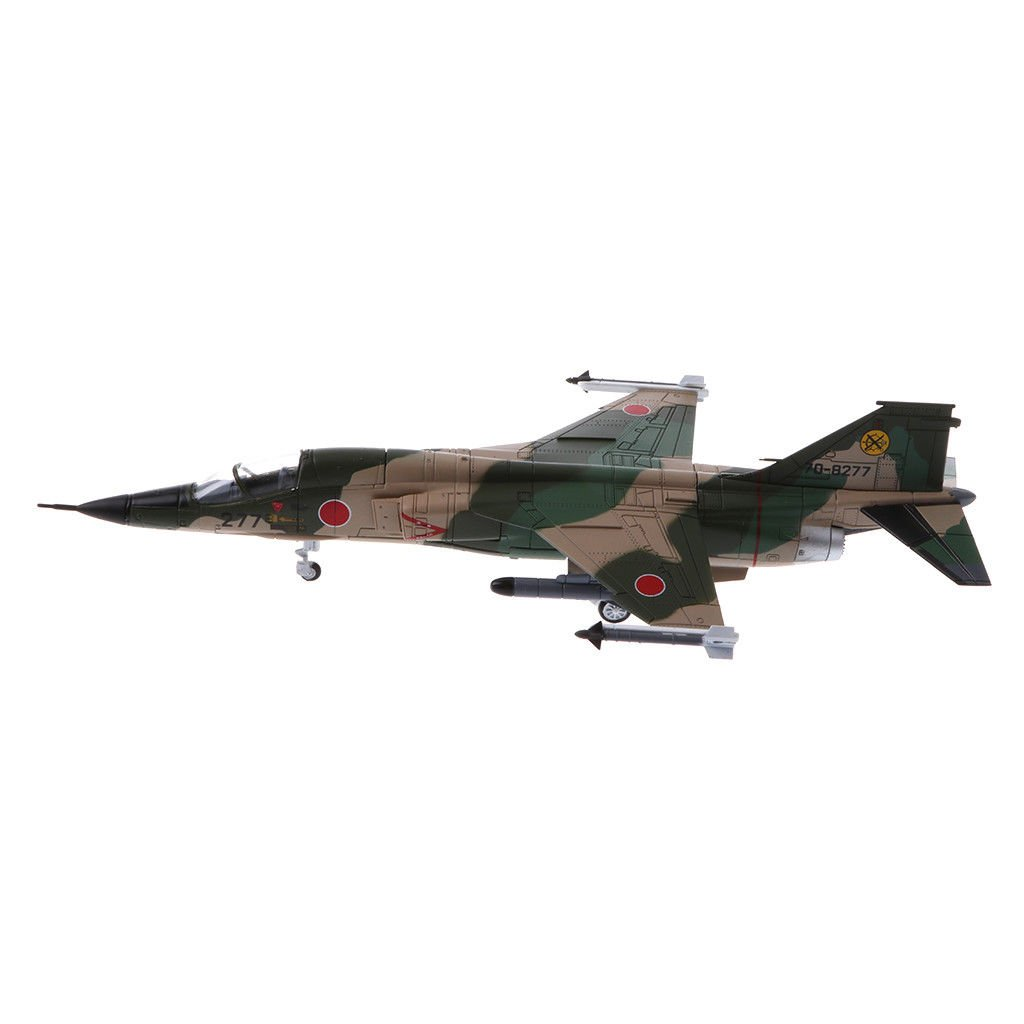 MagiDeal 1:100 Japan JASDF Supersonic F-1 Military Warplane Model Plane Toys
