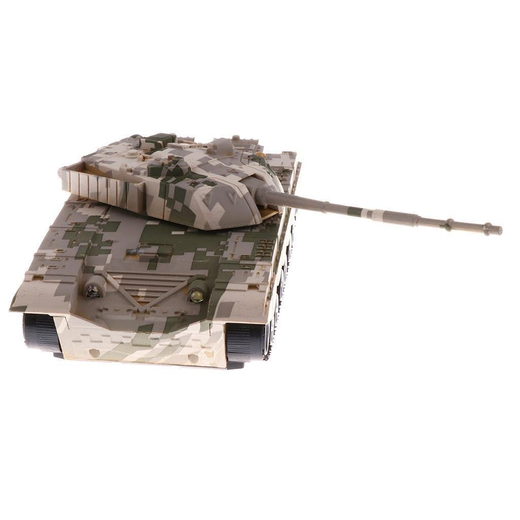 1:32 Chinese T-99 Tank for 54mm Army Men Soldier Figures - Camouflage Yellow