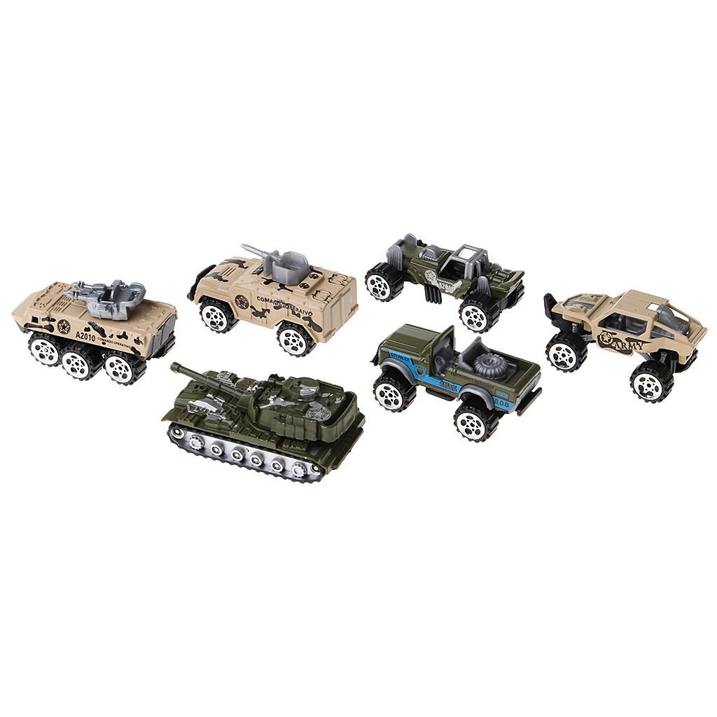 Military Car Tank Fire Engines Missile Car Alloy Vehicles Toy Collectible