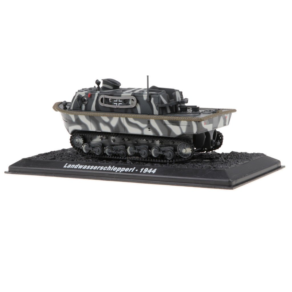 German LSW I Tank 1:72 Scale Alloy WWII Military Vechile Model with Base