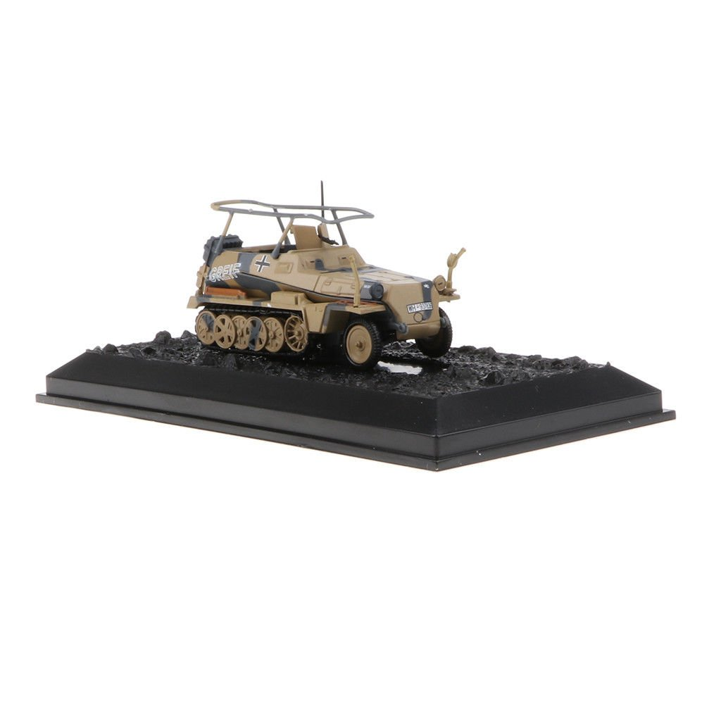 MagiDeal 1:72 German Military Armor Sd.kfz.250-194<wbr/>2 Tank Destroyer Model T