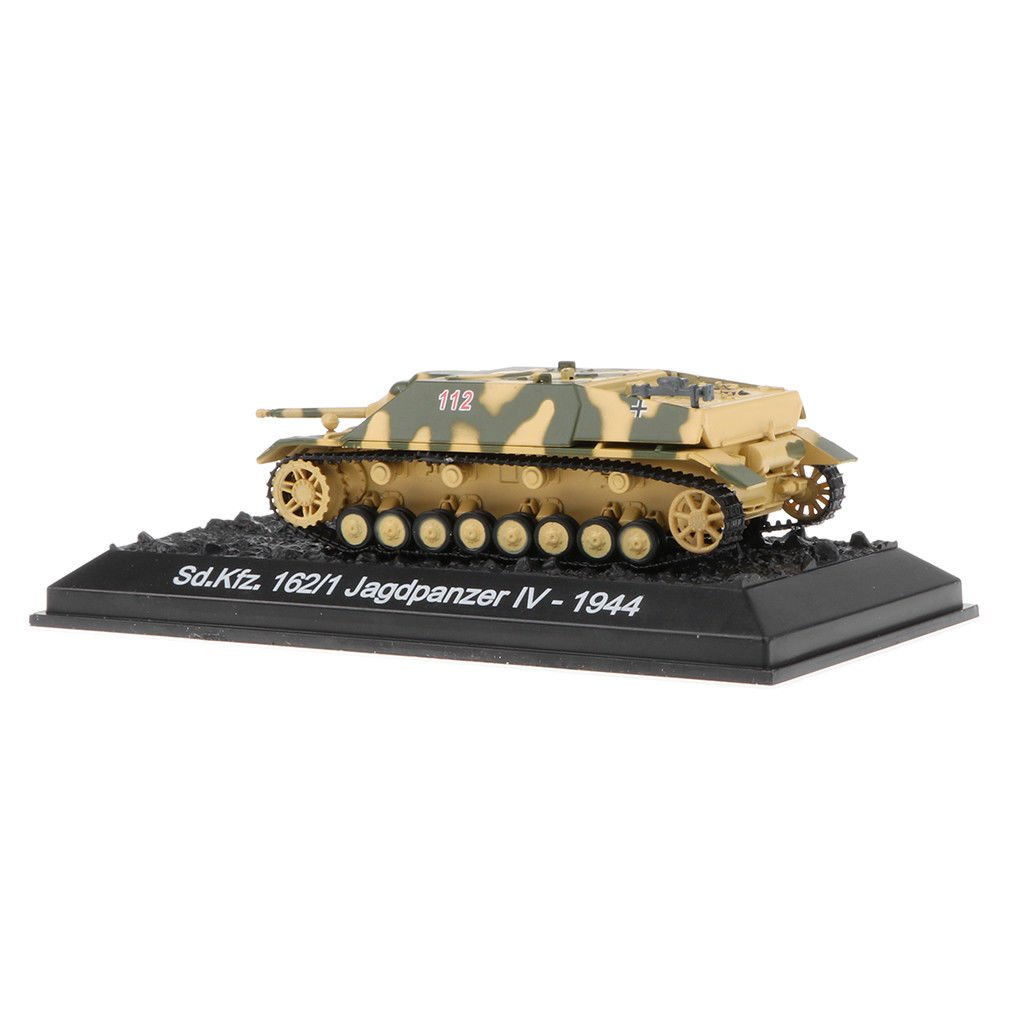 MagiDeal 1:72 Military Sd.Kfz.162/1 Jagdpanzer IV-1944 German Tank Model Toy