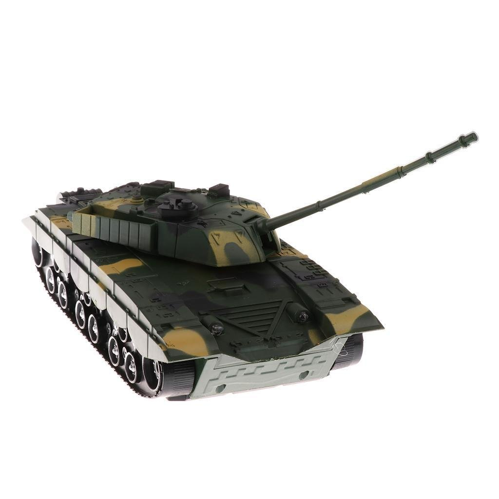 1:32 Chinese T-99 Tank for 54mm Army Men Soldier Figures - Camouflage Green