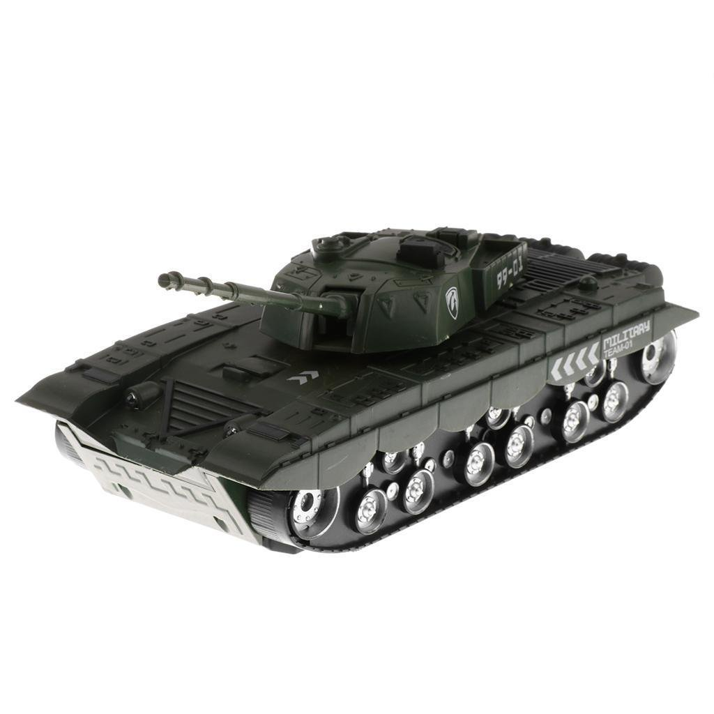 1:32 Scale Chinese T-99 Tank for 54mm Army Men Soldier Figures - Army Green
