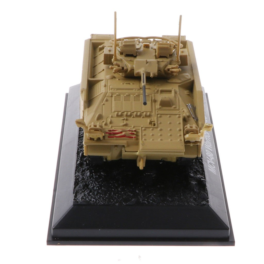 MagiDeal 1/72 MCV-80 Warrior 2003 Tank Diecast Military Vehicle Collectibles