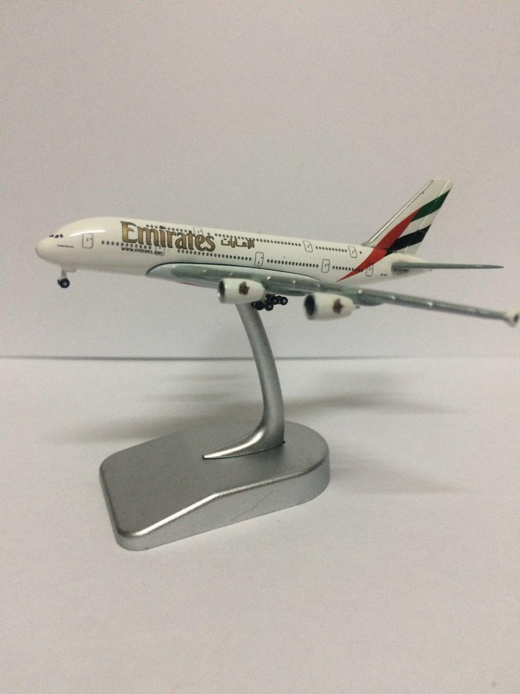 Emirates Airbus A380-800 Socatec Model Scale 1:1000