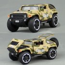 1:32 Hummer HX Military Force Car Model Toy Vehicle Diecast Sound Light Gift