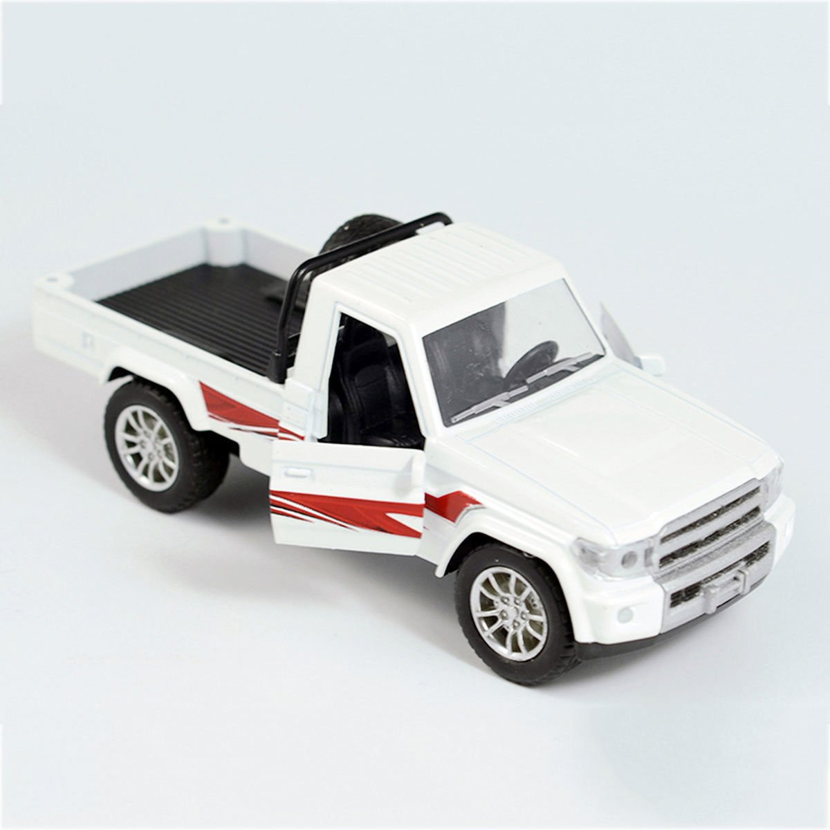 1:28 Military Force Army Pickup Off-road Vehicle Alloy Diecast Collectioon Kids