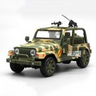 Camouflage 1:32 Jeep Off-road Military Force Vehicle Alloy Diecast Car Model Toy