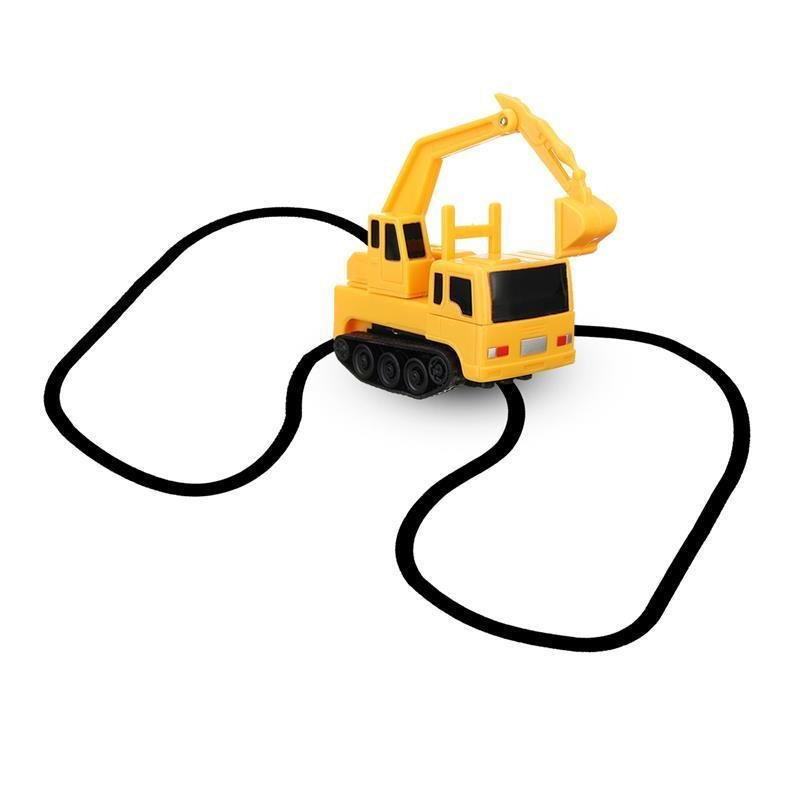 NEW 1PC Magic Toy Truck Inductive Car Construction Cars Truck with Magic Pen